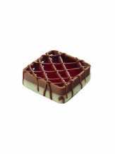 Raspberry Lattice Milk Chocolate